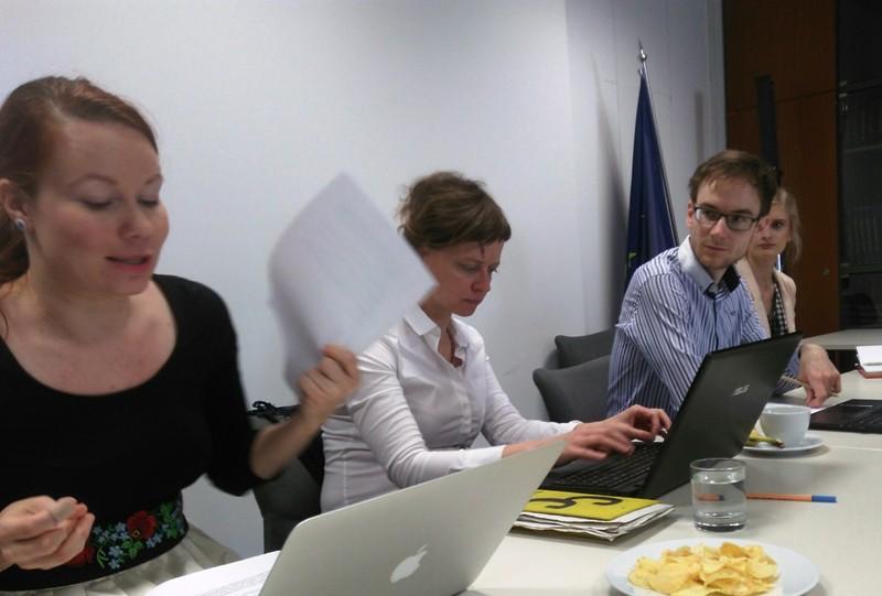Národná pracovná skupina pre štruktúrovaný dialóg zasadala.