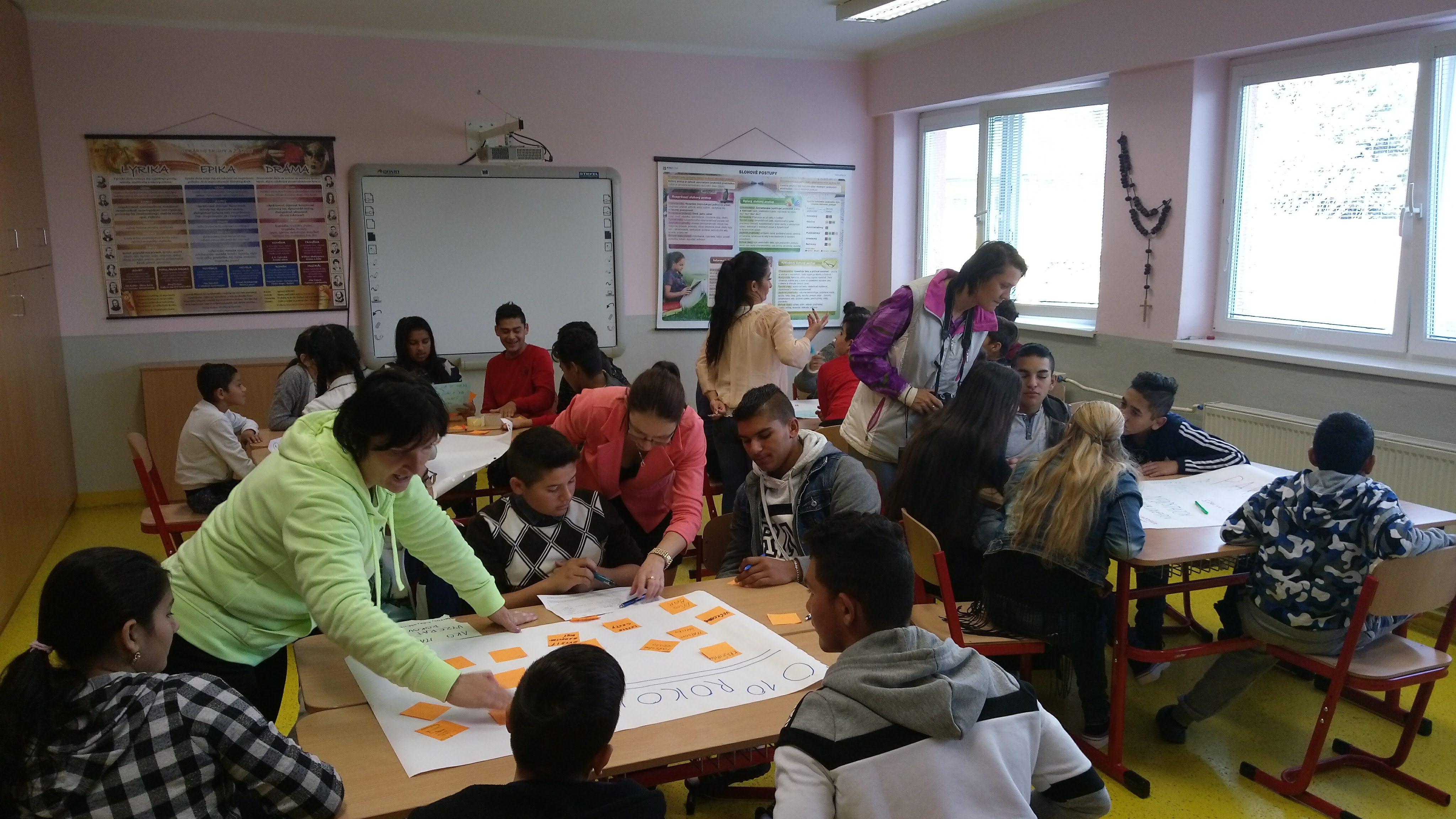 Dôležití dospelí a mládež v Spišských Tomašovciach