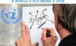 Výzva na mládežníckeho delegáta/delegátku SR v OSN