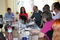Pracovné rokovanie krajských rád mládeže, odboru mládeže MŠVVaŠ SR a IUVENTOU- Slovenským inštitútom mládeže, 6.4.2017 , Žilina